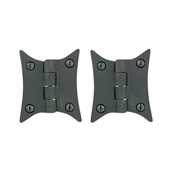 Cast Iron Butterfly Cabinet Hinge 3 38 H Pack of 2