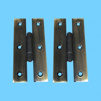 <PRE>3&quot; Oil Rubbed Bronze Cabinet Flush H Hinge Pack of 2 </PRE>