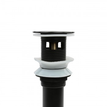 <PRE>Sink Drain Jet Black </PRE>zoom6