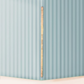 Light Hardwood Edge & Corner Guards Unfinished 1 Inch Diameter Pack of 10