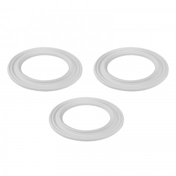 "<PRE>3 Spot Light Ring White Trim 6.5inch ID x 10""OD Mini Medallion 3 Pack </PRE>zoom1"