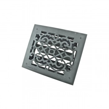 <PRE>2 Floor Heat Register Louver Vent Victorian Cast 10 x 12 Duct </PRE>zoom9