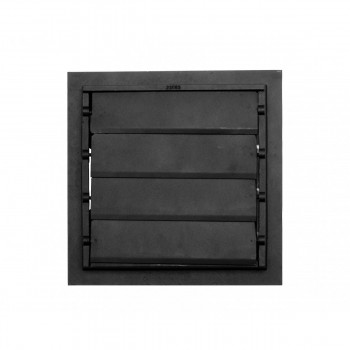 2 Floor Heat Register Louver Vent Victorian Cast 12 x 12 Duct Heat Register Floor Register Wall Registers