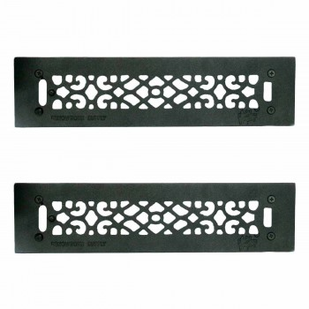 2 Floor Heat Register Louver Vent Cast 2 14 x 14 Duct Heat Register Floor Register Wall Registers