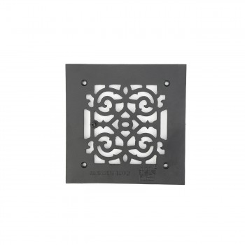 <PRE>2 Heat Air Grille Cast Victorian Overall 8 x 8 </PRE>zoom7