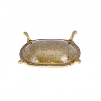 3 Vintage Freestanding Brass Soap Dish Clawfoot Tub Style soapdish soap dish soap holder