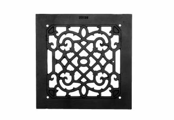 <PRE>2 Heat Air Grille Cast Victorian Overall 10&quot; x 10&quot; </PRE>