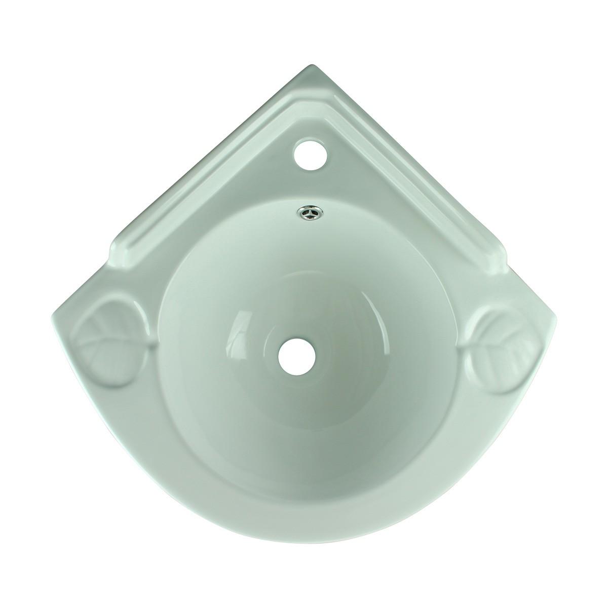 2 Small Corner Wall Mount Sink Bathroom Basin Soap Dishes Set of 2 Corner Sinks wall mounted wash basin Corner Bathroom Sink