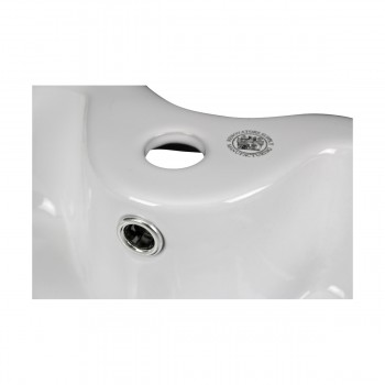 <PRE>2 Above Counter Vessel Bathroom Sink Heart White China Faucet Set of 2</PRE>zoom8