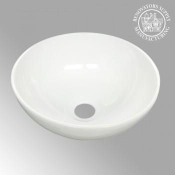 <PRE>White Small Vessel Sink Mini Above Counter Round Bathroom Sink 11.25 inches Dia.</PRE>zoom2