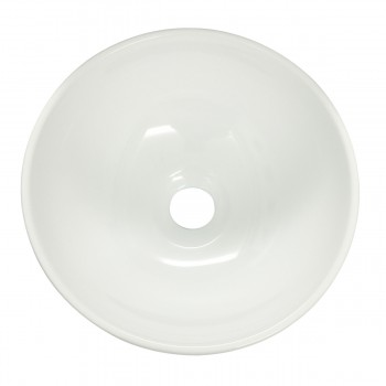 <PRE>White Small Vessel Sink Mini Above Counter Round Bathroom Sink 11.25 inches Dia.</PRE>zoom3