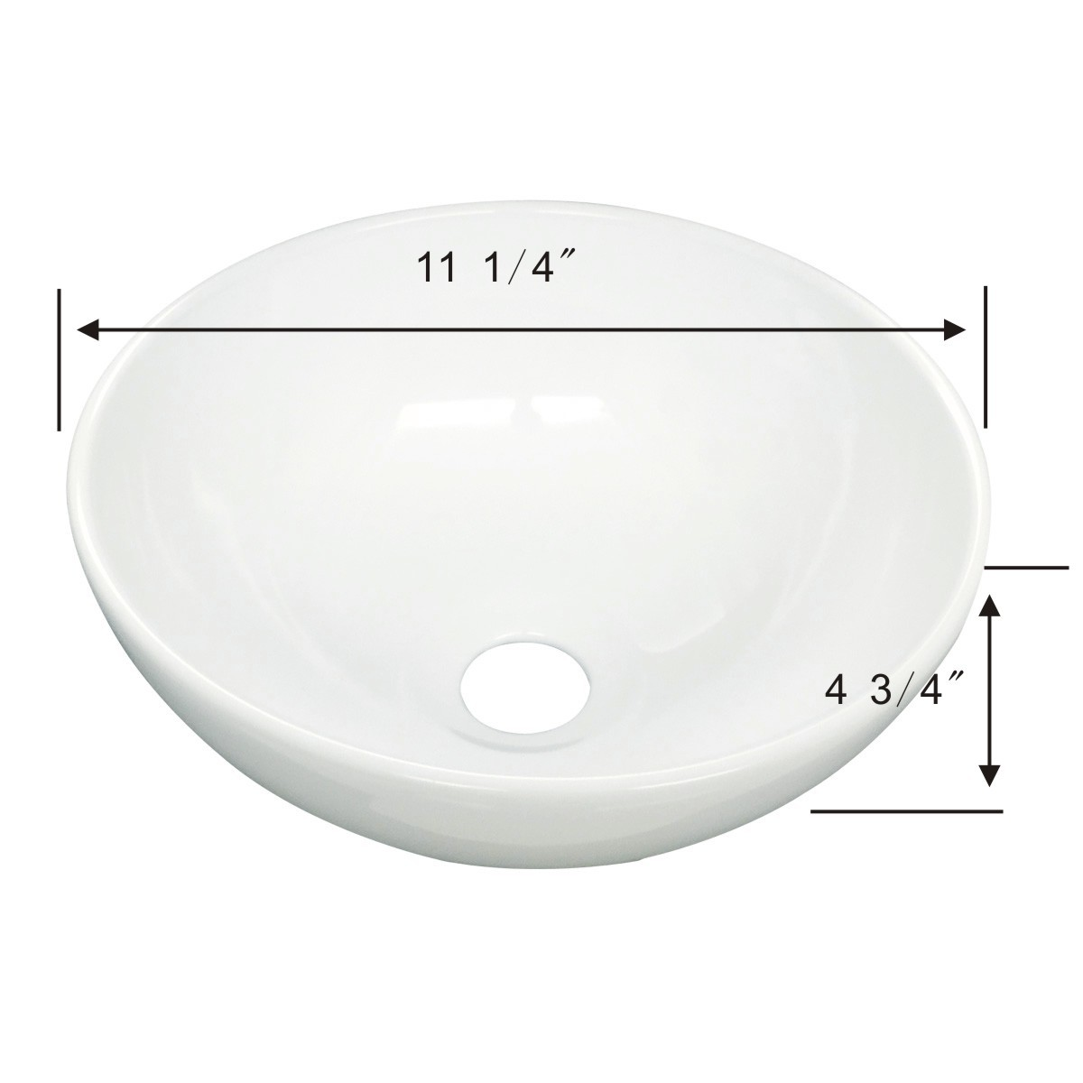 19 round bathroom sink white small vessel sink mini above counter bathroom 15262