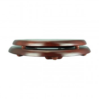 <PRE>Toilet Seat Elongated Solid Wood Cherry Chrome Brass Hinge Set of 2</PRE>zoom3