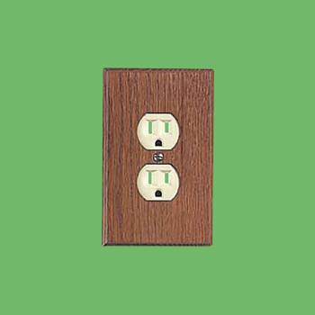 Switchplate Solid Oak Outlet Switch Plate Wall Plates Switch Plates