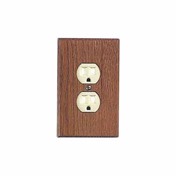 Switchplate Solid Oak Outlet 34026grid