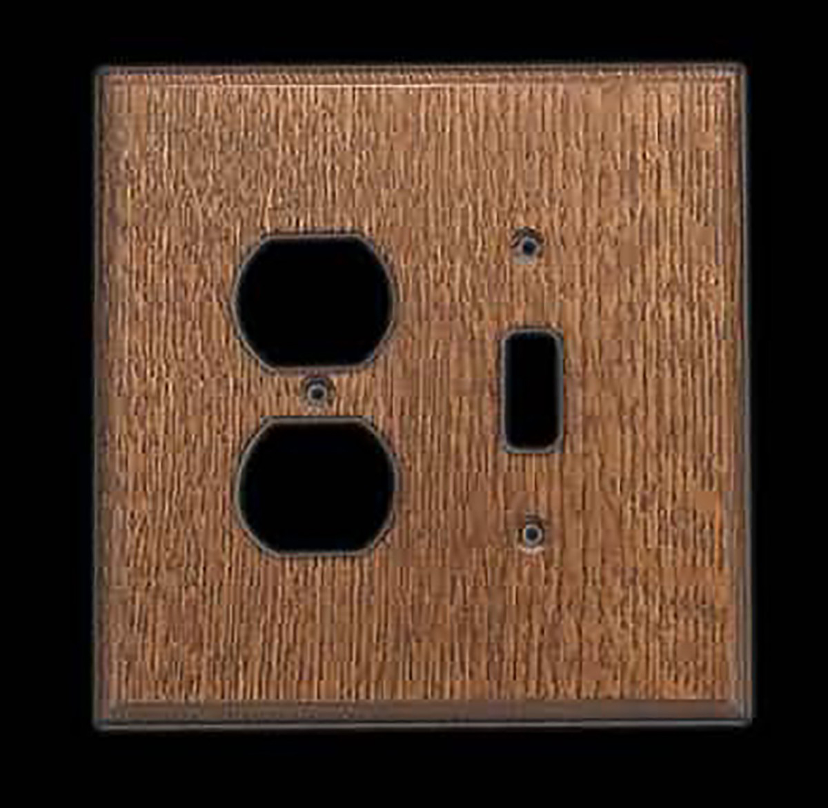 Switchplate Oak ToggleOutlet Switch Plate Wall Plates Switch Plates