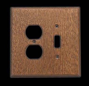 <PRE>Switchplate Oak Toggle/Outlet </PRE>zoom3