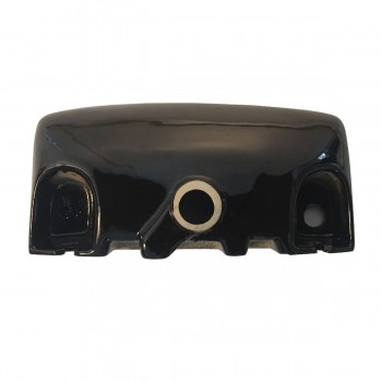 <PRE>Wall Mount Bathroom Sink Small Black Basin With Overflow </PRE>
