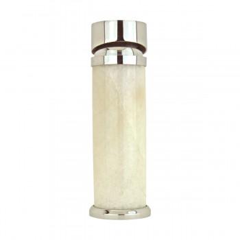 <PRE>3 Bathroom White Marble Faucet Chrome Single Hole 1 Handle </PRE>zoom5