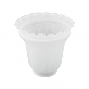 <PRE>Lamp Shade Frosted Glass 5 1/16inch H 2 1/4&quot; Fitter </PRE>zoom3