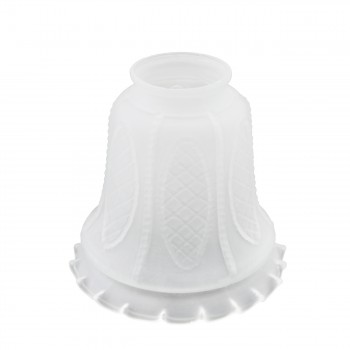 Lamp Shade Frosted Glass 5 116 H 2 14 Fitter