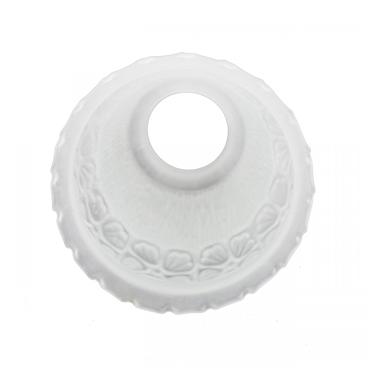 Renovators Supply White 5 12 X 2 14 Flower Bell Frosted Glass Lamp Shade Replacement Glass Lamp Shade Frosted White Lamp Shade Glass Lamp Shade
