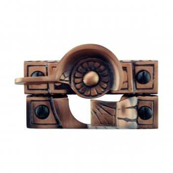 <PRE>8 Ornate Solid Brass Window Sash Lock Antique Brass </PRE>zoom3
