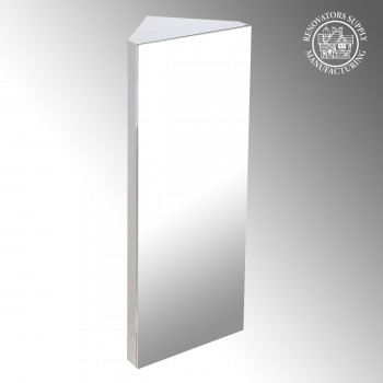 <PRE>Brushed Stainless Steel Medicine Cabinet Corner Wall Mount</PRE>zoom2