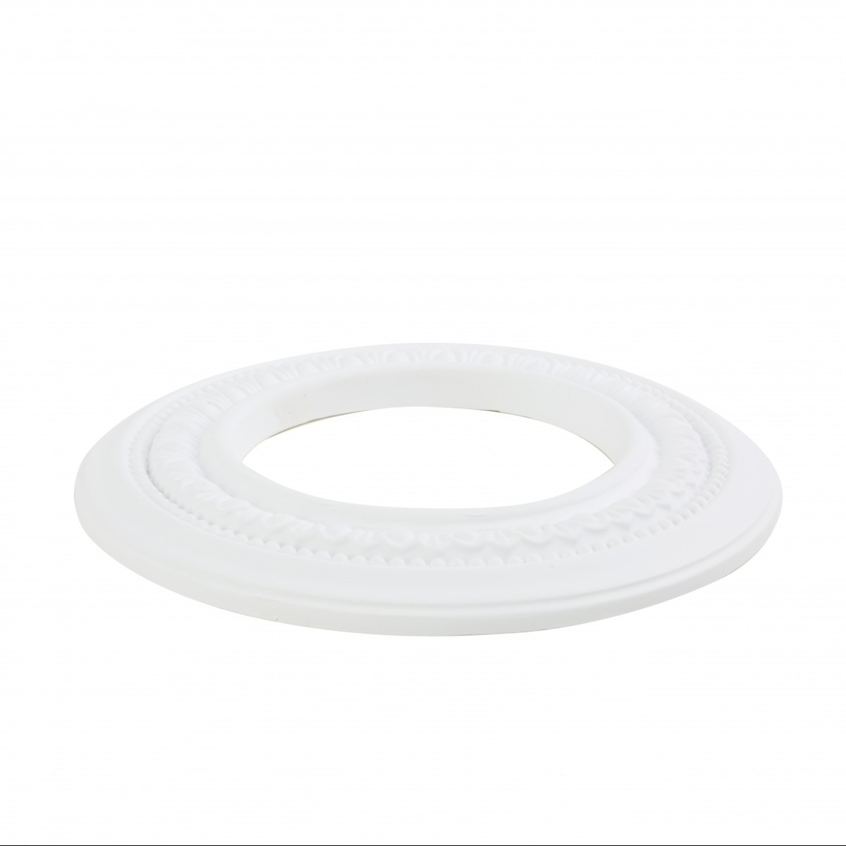 5 Spot Light Ring White Trim 5 ID x 9 OD Mini Medallion Light Medallion Light Medallions Lighting Medallion