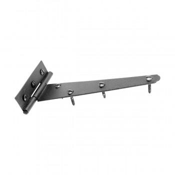 T Strap Door Hinge Black RSF Iron Light Duty Iron 7 Set of 4 T Tee Strap Door Cabinet Iron Flush Hinge Door Hinges Door Hinge