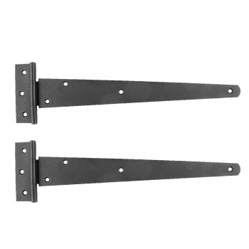 <PRE>2 T Strap Door Hinge Black RSF Iron 13inch </PRE>zoom1