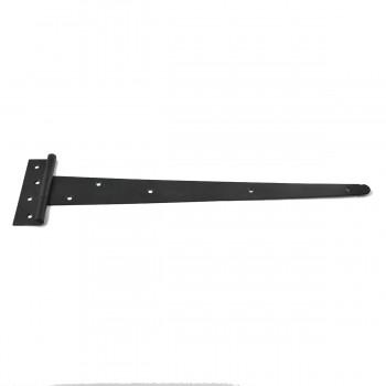 6 T Strap Door Hinges RSF Black Iron Light Duty 19 T Tee Strap Door Cabinet Iron Flush Hinge Door Hinge Door Hinge