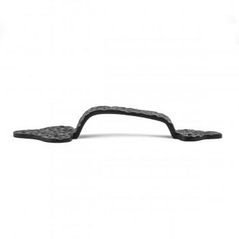 <PRE>4 Door Pull Leaf Black Wrought Iron 8inch </PRE>zoom5