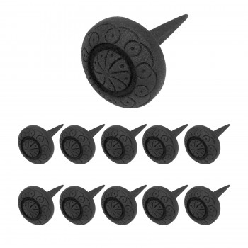 <PRE>10 Clavos Nails Black Wrought Iron Nails Decorative Set Of 10</PRE>zoom1