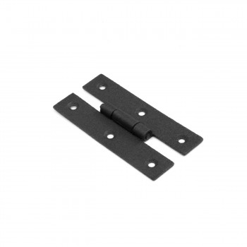 Cabinet Hinge Black Wrought Iron Hinge H Flush 3 H Pack of 25