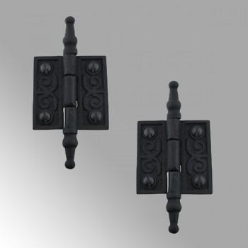 Victorian Door Butt Hinge Steeple Tip Wrought Iron 2