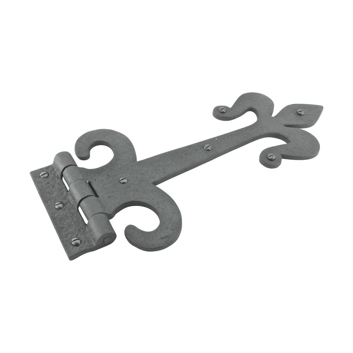 Black Iron Door Strap Hinge 12 Inch Set Of 4 Door Hinges Black Iron Strap Hinge heavy duty strap hinges