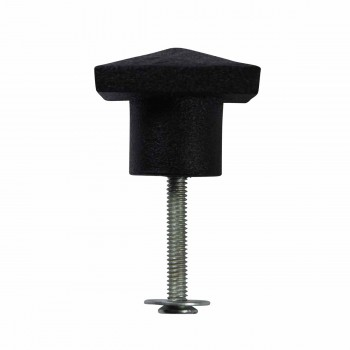 <PRE>2 Cabinet Knob Square Black Iron 1 1/4inch </PRE>zoom6