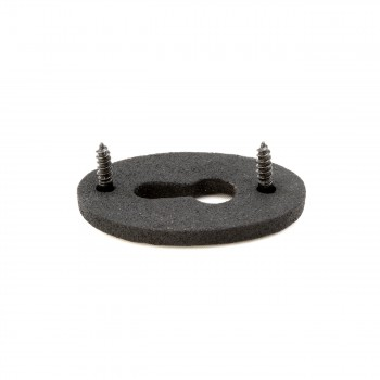 <PRE>Wrought Iron Keyhole Cover Escutcheon Replacement 1-3/4inch H Pack of 2</PRE>zoom7