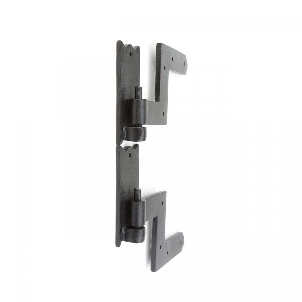 Black RSF Iron Shutter Hinges Rustproof Finish 2 Pairs Wrought Iron Shutter Hinges exterior shutter hinges shutter hardware