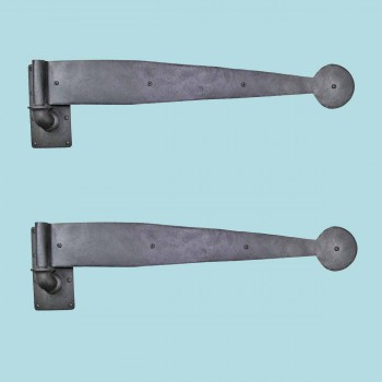 <PRE>2 Bean Pintle Strap Door Hinge Wrought Iron 28inch </PRE>zoom2