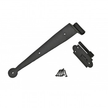 <PRE>Strap Hinge Pintle Shutter Hinge Offset Wrought Iron 11-3/4 in. Set of 4</PRE>zoom4