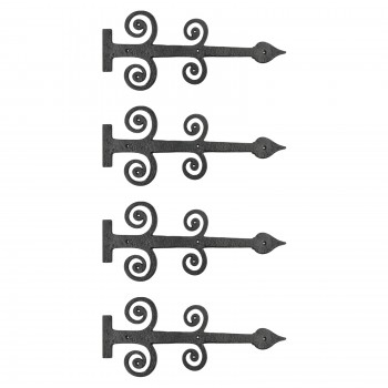 <PRE>4 Decorative Heavy Iron Door Strap Hinge Spade 16inch Long </PRE>zoom1