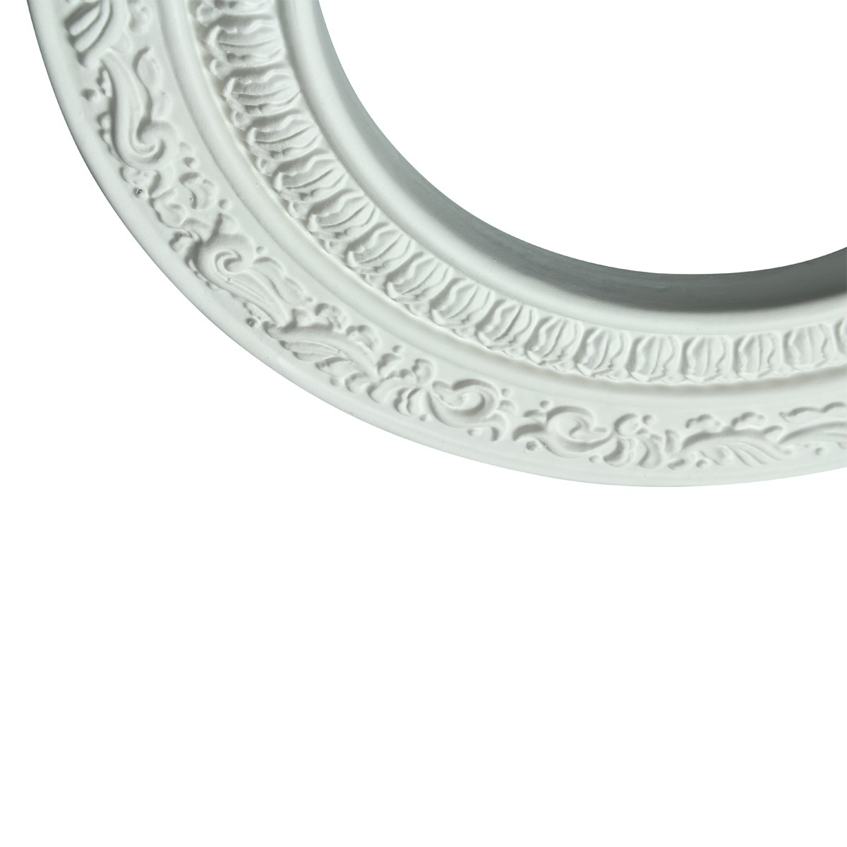 5 Spot Light Trim Medallions 6 ID White Urethane Set of 5 Light Medallion Light Medallions Lighting Medallion