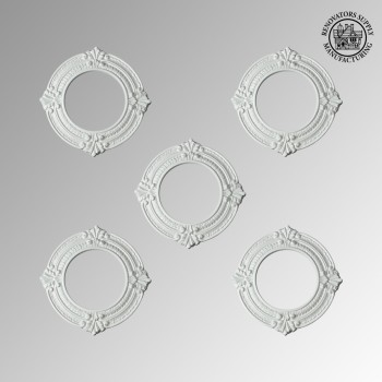 <PRE>Spotlight Rings White Urethane 4inch ID Set of 5 </PRE>zoom2