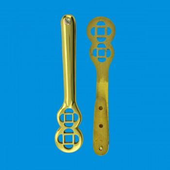 Solid Brass Carpet Clip Stair Holder Set of 26