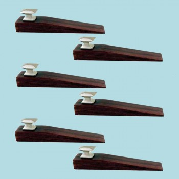 <PRE>6 Door Wedge Solid Mango Wood Satin Brass Knob Cherry </PRE>zoom2