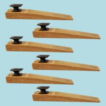 <PRE>6 Door Wedge Solid Mango Wood Oil Rubbed Bronze Knob Natural</PRE>zoom2