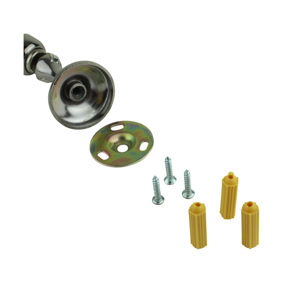 6 Magnetic Door Stop Safety Catch Black Nickel Zinc Alloy doorstop door bumper door holder