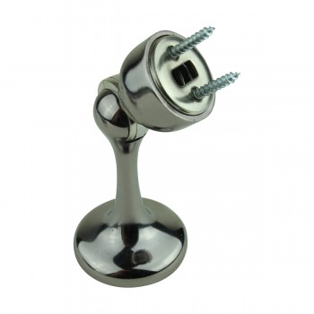 <PRE>6 Magnetic Door Stop Safety Catch Black Nickel Zinc Alloy </PRE>zoom8